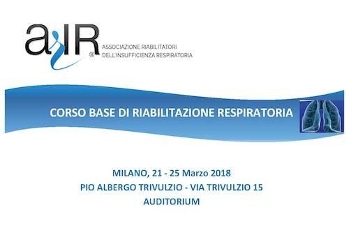 Corso base di riabilitazione respiratoria