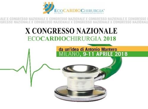 X Congresso Nazionale Ecocardiochirurgia 2018