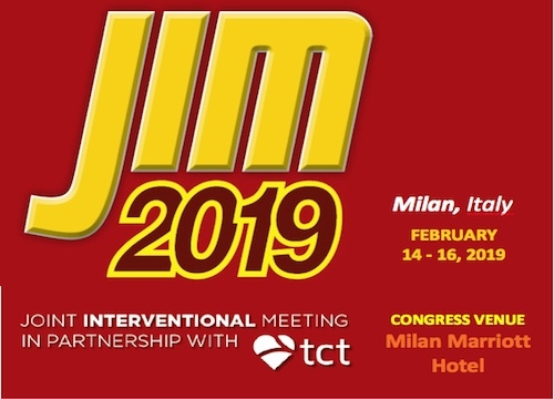 JIM 2019 - Joint Interventional Meeting