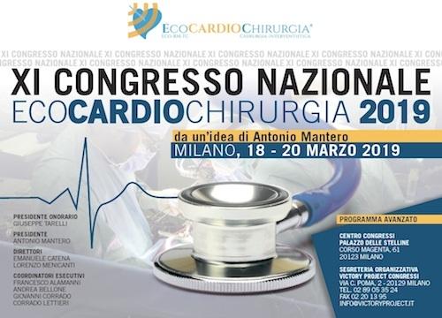 XI Congresso Nazionale Ecocardiochirurgia 2019