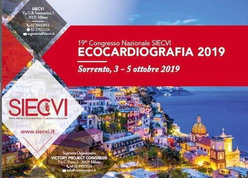 19° Congresso Nazionale SIECVI ECOCARDIOGRAFIA 2019