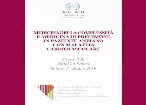 SAVE THE DATE - MEDICINA DELLA COMPLESSITÀ E MEDICINA DI PRECISIONE IN PAZIENTE ANZIANO CON MALATTIA CARDIOVASCOLARE