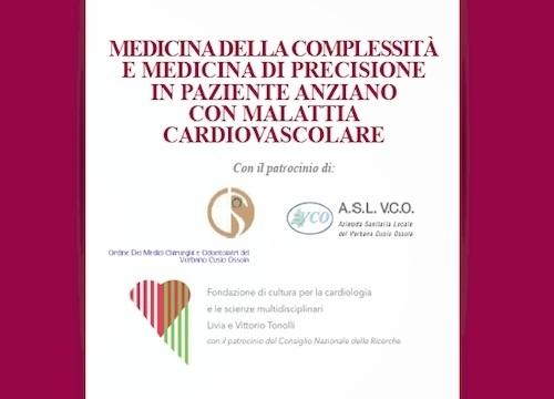 MEDICINA DELLA COMPLESSITÀ E MEDICINA DI PRECISIONE IN PAZIENTE ANZIANO CON MALATTIA CARDIOVASCOLARE