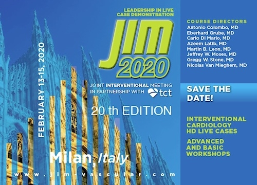 JIM 2020 - Joint Interventional Meeting