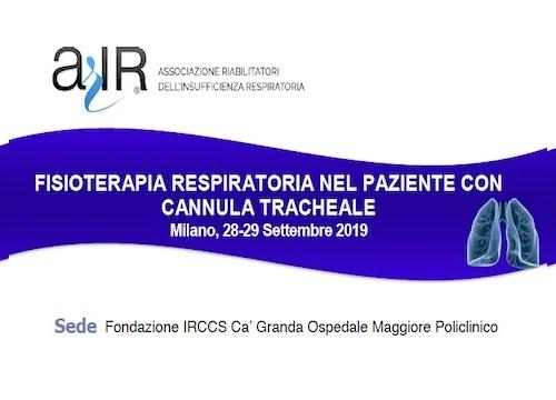 FISIOTERAPIA RESPIRATORIA NEL PAZIENTE CON CANNULA TRACHEALE