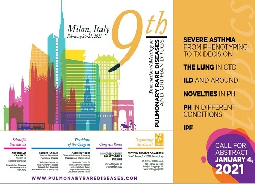 9th International Meeting on Pulmonary Rare Diseases and Orphan Drugs