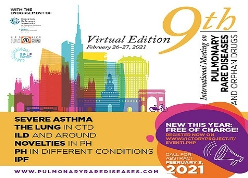 9th International Meeting on Pulmonary Rare Diseases and Orphan Drugs - Free of charge Edition